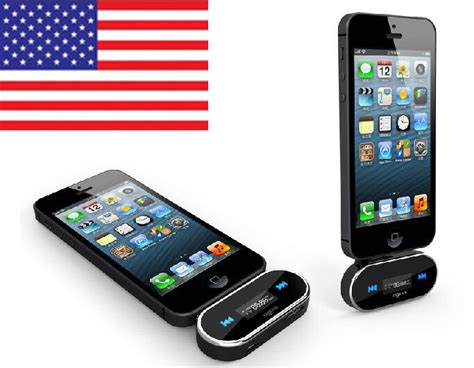 in-Car FM Transmitter SAMSUNG iPhone - Play Music to Car