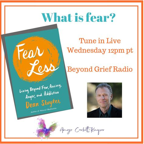 Fear Less Living Beyond Fear Anxiety Anger And Addiction