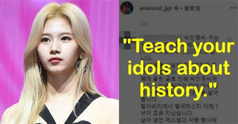 Angry Fan Asks JYP To Educate His Idols, After TWICE Sana